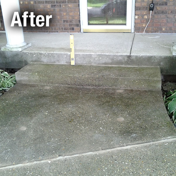 Maryville Concrete Step Repair - After
