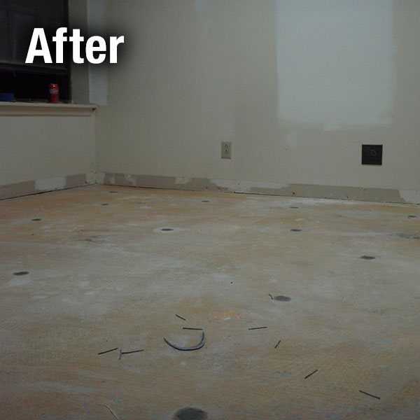 Maryville Concrete Floor Leveling - After