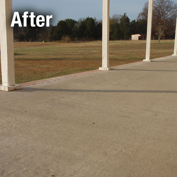 Maryville Concrete Patio Leveling - After