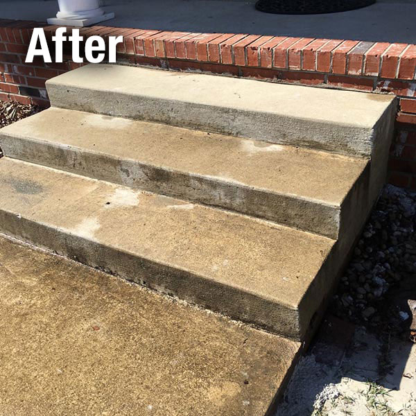 Maryville Concrete Steps Leveling - After