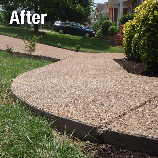 Maryville Concrete Sidewalk Leveling - After